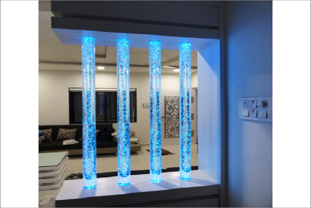 Glass-Pillars
